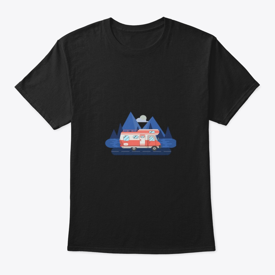 Camping Camp Trailer Park The Motorhome Unisex Tshirt