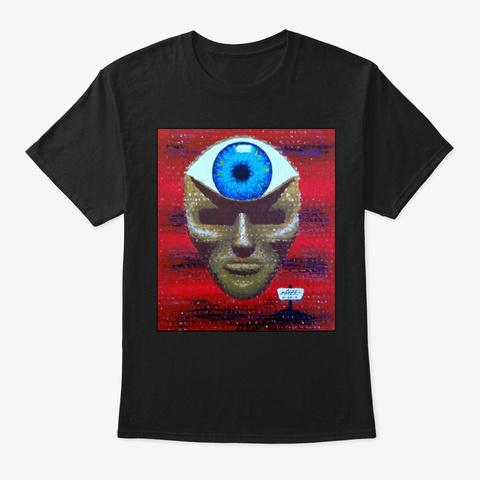 Seen Black T-Shirt Front
