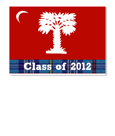 Class Of 2012 White T-Shirt Front