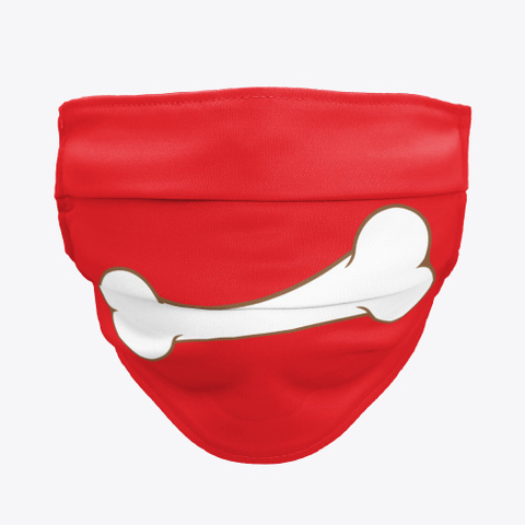 dog bone cloth face masks