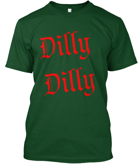 Dilly Deep Forest T-Shirt Front