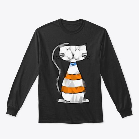 Cat Nzd6s Black T-Shirt Front