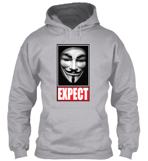 Expect Sport Grey T-Shirt Front