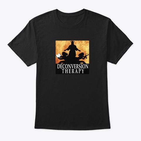 Men's Fit Logo Shirt Black T-Shirt Front