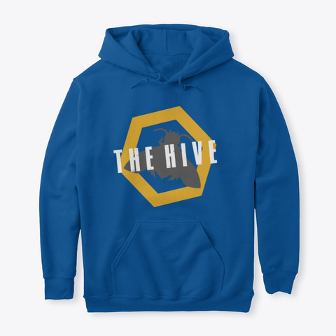 The Hive Brand Royal T-Shirt Front