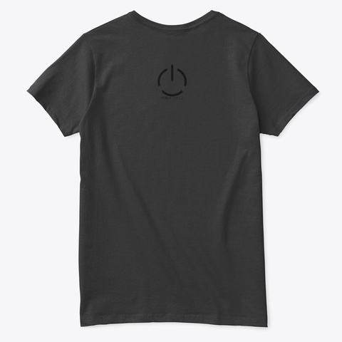 Too Many Damn Cables   Apparel Black T-Shirt Back