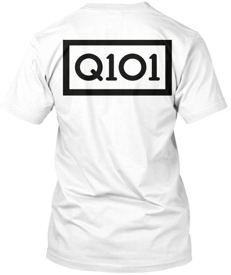 Q1 O1 White T-Shirt Back