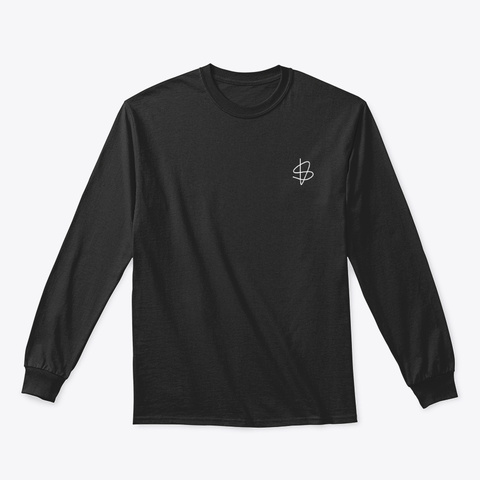 Long Sleeve Tee: Sisu Sign Black T-Shirt Front