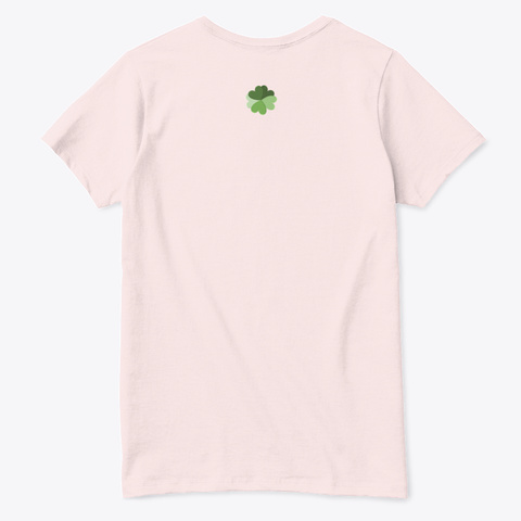Queen's  Fly Pale Pink  T-Shirt Back
