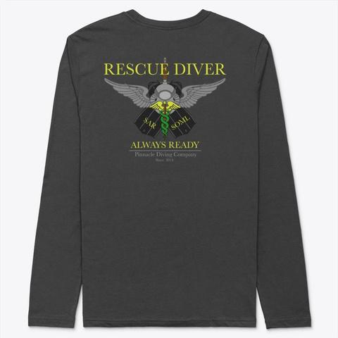 Pdc Long Sleeve Rescue Shirt 1 Black T-Shirt Back