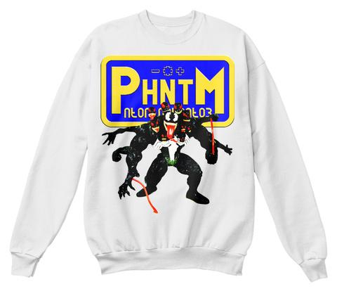 Poison White  Sweatshirt Front