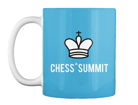 Chess^Summit Lt Blue T-Shirt Front