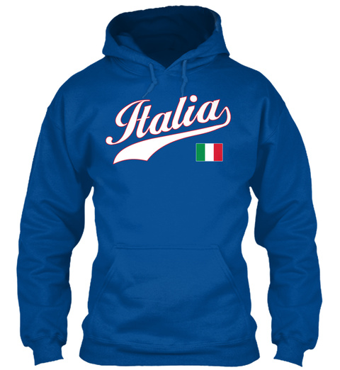 Italia Repvbblic Ana Royal T-Shirt Front