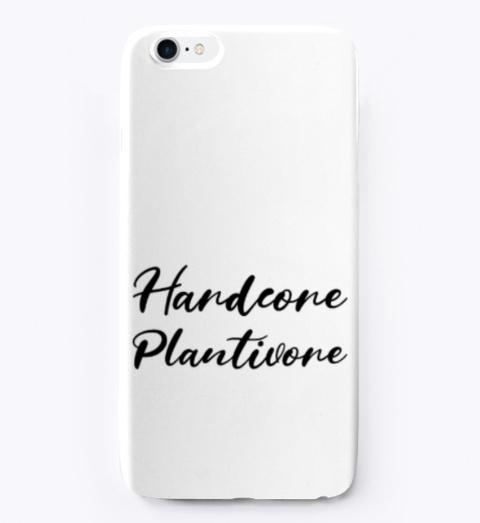 Hardcore Plantivore Black Standard T-Shirt Front