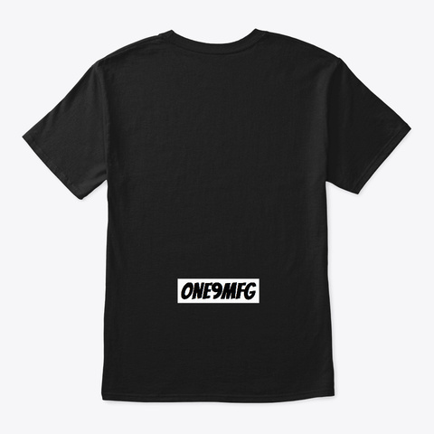 Bend & Snap Black T-Shirt Back