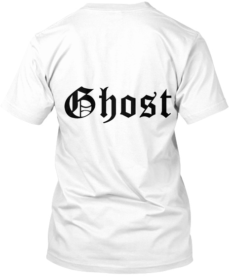 Ghost White T-Shirt Back