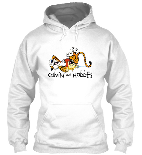 Must Read Book Covers Calvin And Hobbes  White T-Shirt Front