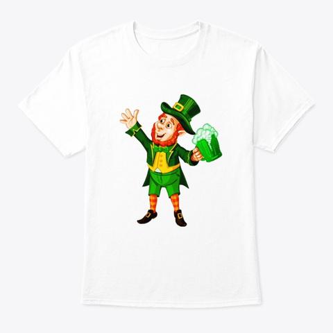 St Patrick Day Beer Leprechaun Shirt