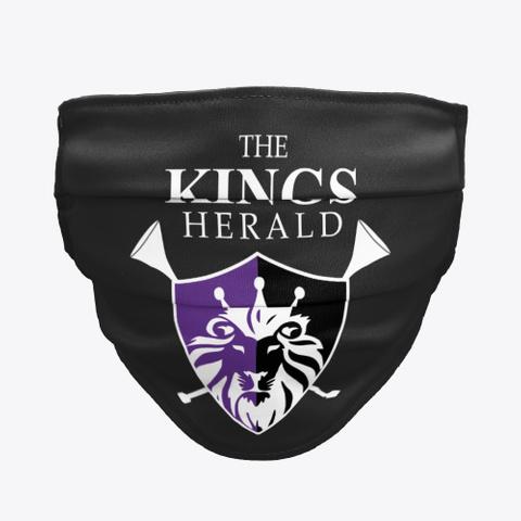 Tkh Logo Face Mask Black T-Shirt Front