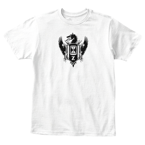 Young Wolf Kids  White Maglietta Front