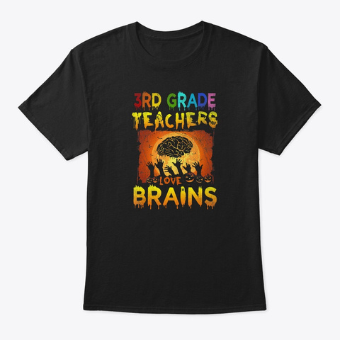 3rd Grade Teachers Love Brains Unisex Tshirt