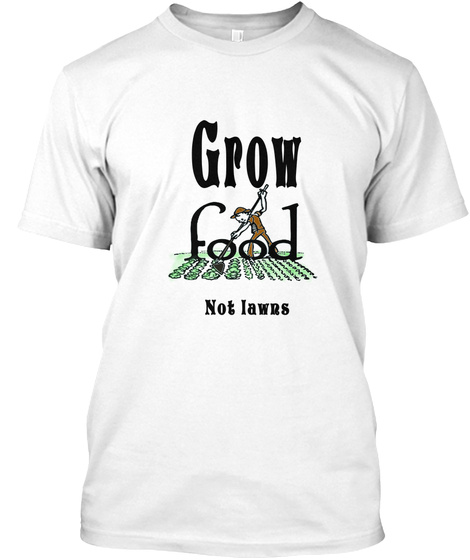 Manabu Farms  White T-Shirt Front