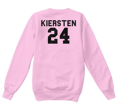 Kiersten 24 Pale Pink  Camiseta Back
