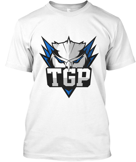 Tgp White T-Shirt Front