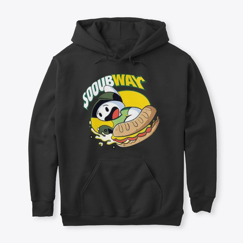Sooubway T Shirts Black T-Shirt Front