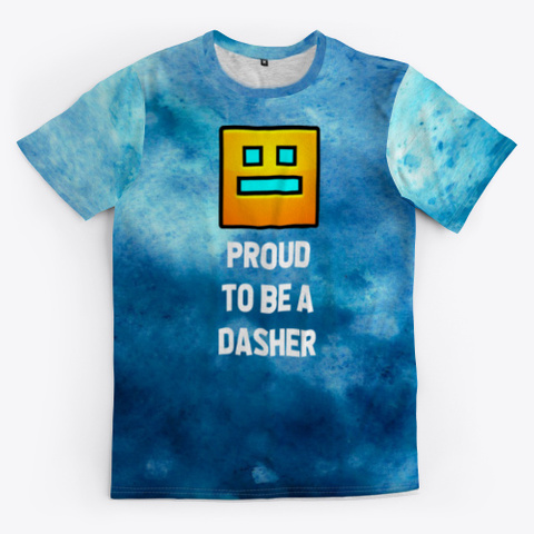 """""""Proud To Be A Dasher"""" Standard T-Shirt Front"""
