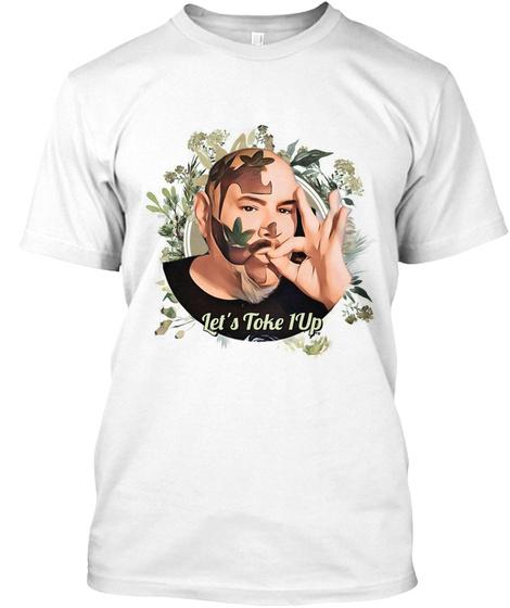 Iam Super Marijuanaeo Herbage New Look White T-Shirt Front