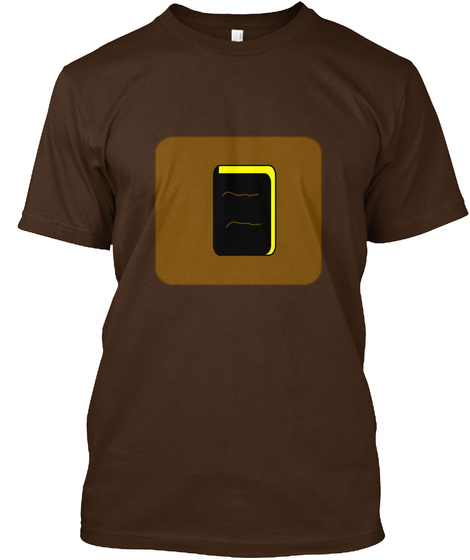 Twinlightenment   Leadership  Dark Chocolate T-Shirt Front