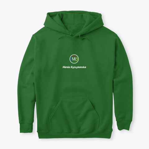 Maria Rzeszotarska Pullover Hoodie Irish Green T-Shirt Front