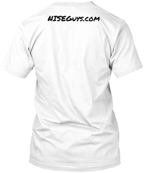 Niseguys.Com White T-Shirt Back