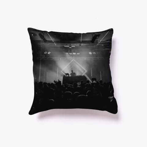 Indoor Pillow: Live Show Black T-Shirt Front