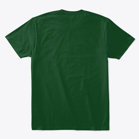 Hecho En San Antonio   Eatmigos Forest Green  T-Shirt Back