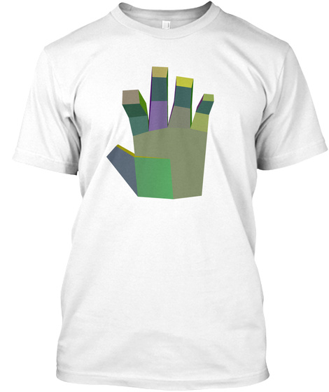 The Left Hand White T-Shirt Front