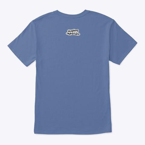 Lamn Tee Denim Blue áo T-Shirt Back