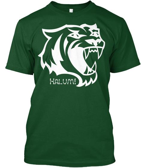 Halum! Deep Forest T-Shirt Front