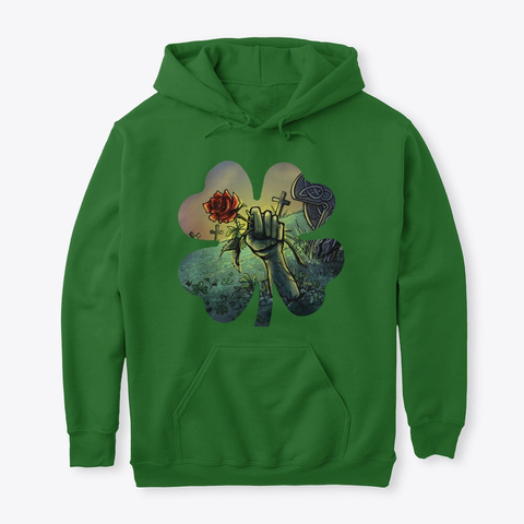Patty Rose 2020 Collection Irish Green T-Shirt Front