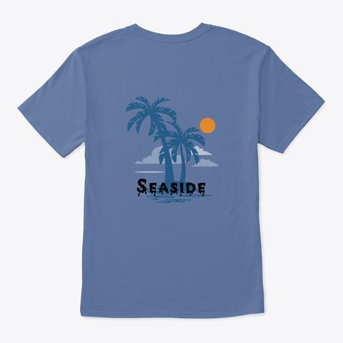 T Shirt  Denim Blue T-Shirt Back
