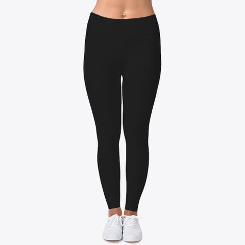 Rapid Strides Fitness Leggings Neu  Black T-Shirt Front