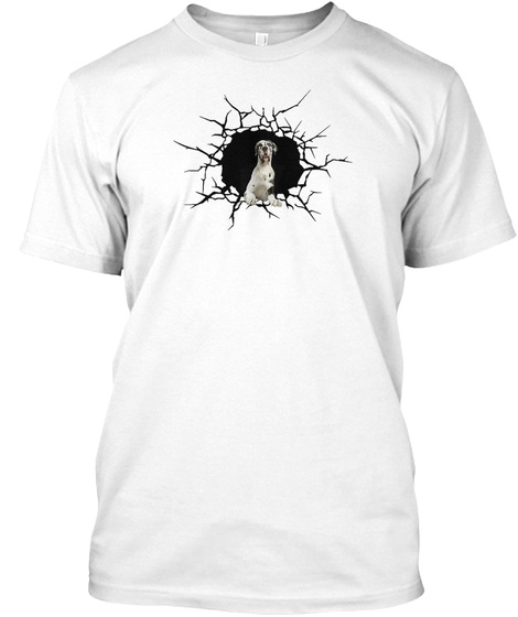 Great Dane   Mgr White T-Shirt Front