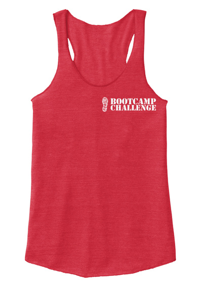Boot Camp Challenge Eco True Red  T-Shirt Front