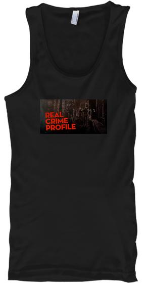 Real Crime Profile Black T-Shirt Front