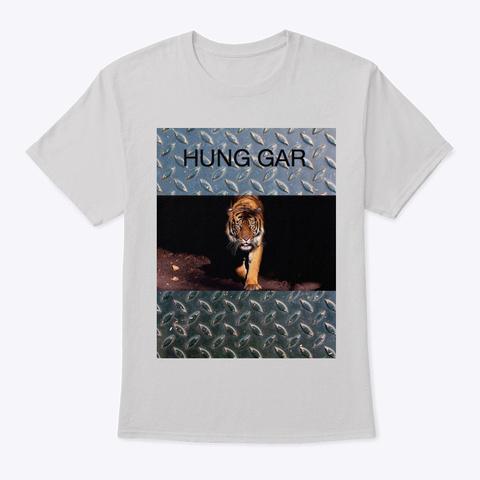 Hung Gar Tee Light Steel T-Shirt Front