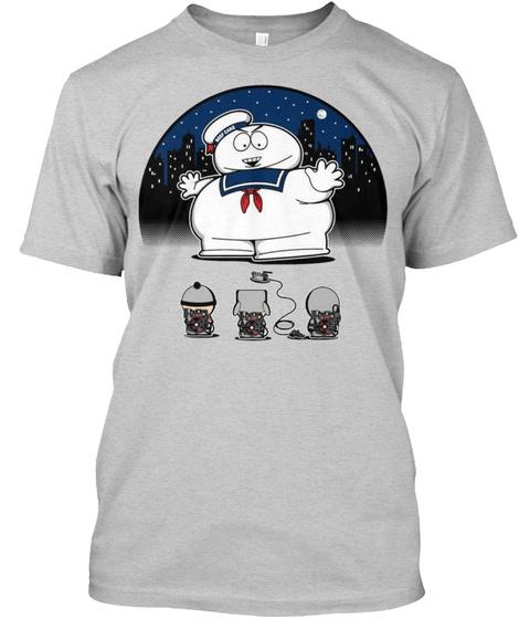 Sp Puft Light Steel T-Shirt Front