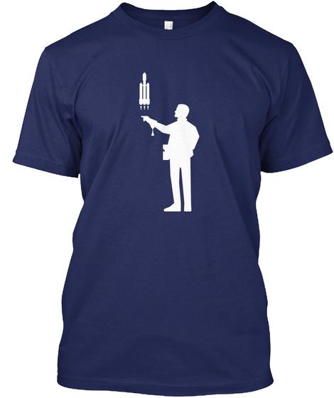 Falconer 4 Man [Usa] #Sfsf Midnight Navy T-Shirt Front