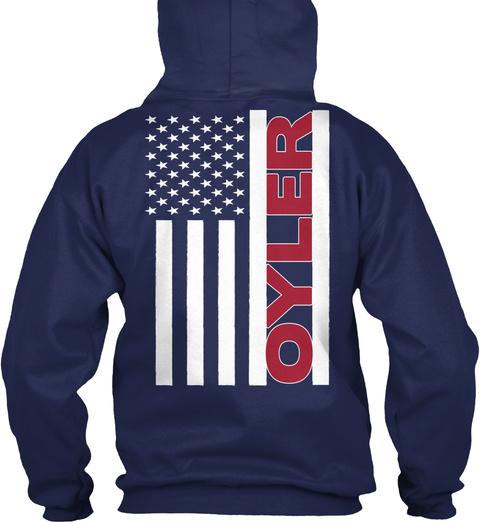 Oyler Navy T-Shirt Back