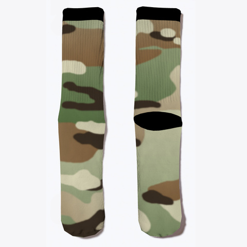 Military Woodland Camouflage Ii Standard T-Shirt Front